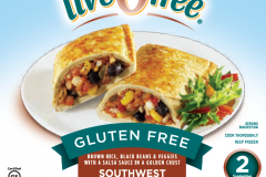 LiveGfree Gluten Free Stuffed Sandwiches Southwest Veggie