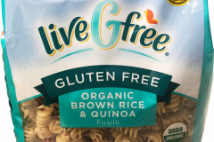 LiveGfree Organic Gluten Free Brown Rice Penne Pasta