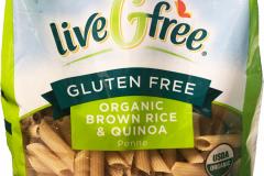 LiveGfree Organic Gluten Free Brown Rice Quinoa Fusilli