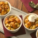 Gluten Free Cheddar Apple Crumble