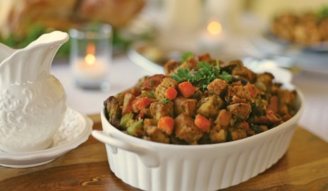 Five savory stuffing recipes for the holidays.