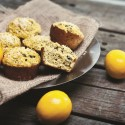 Coconut Flour High protein Lemon Poppy Seed Muffins 2