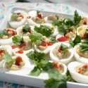 sriracha avocado deviled eggs angela sackett a
