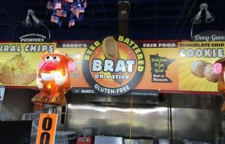 gluten-free beer-batter brats